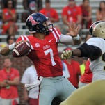 QB Pellerin makes Ole Miss debut in win against Wofford