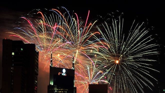 Nashville will have the nation's largest July 4 fireworks display this year.