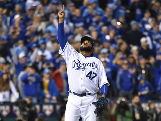 MLB: World Series-New York Mets at Kansas City Royals