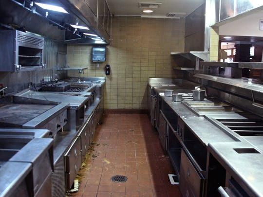 The kitchen of Bernie's Lounge will be completely remodeled.