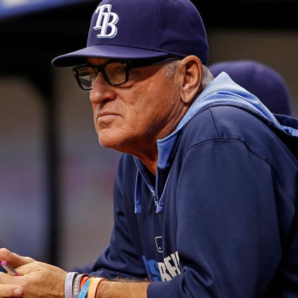 The Tampa Bay Rays announced Friday that manager Joe