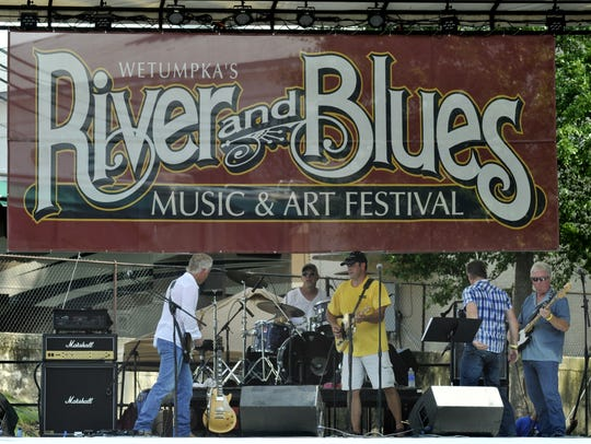 The Wetumpka River and Blues Music and Arts Festival