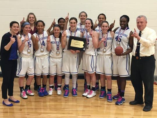 The Mercersburg Academy girls basketball team  claimed