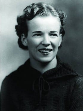 Mary Bryson is pictured in this undated photo from her Drake University days in the 1930s.