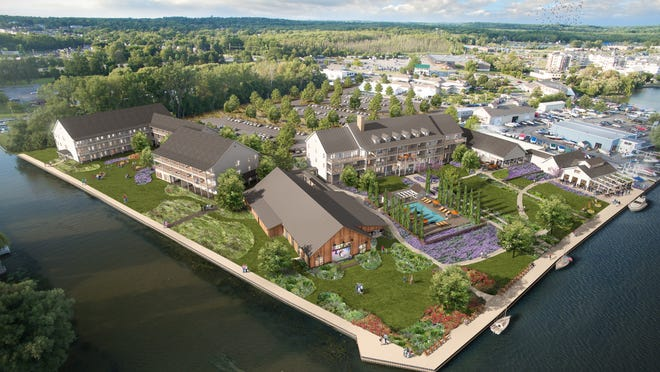 The Lake House on Canandaigua, as pictured in this rendering, receives the Canandaigua Chamber of Commerce's Environmental Champion of the Year Award.