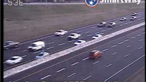 Shelby County Sheriff's Office on scene of crash at I-40 near Canada Road.