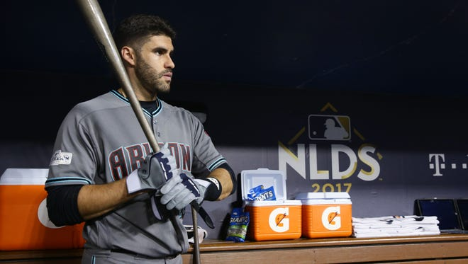 J.D. Martinez shined with the Arizona Diamondbacks late in the 2017 season.