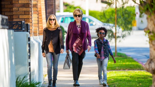 """From left, Amanda Seyfried as Anne Sherman, Shirley MacLaine as Harriet Lauler and Ann'Jewel Lee as Brenda in the film """"The Last Word."""""""
