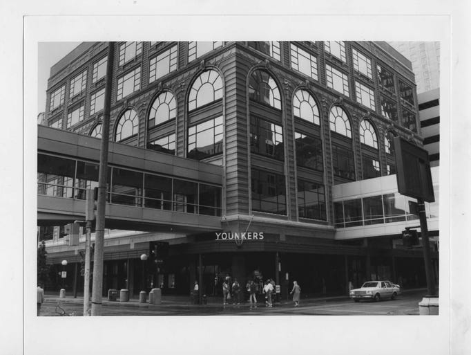 16 photos: Younkers Tea Room before renovation