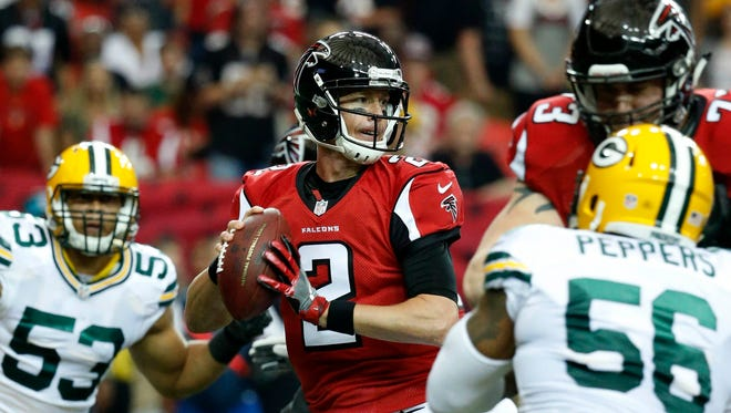 QB Matt Ryan (2) has guided the Falcons to first place in the NFC South.