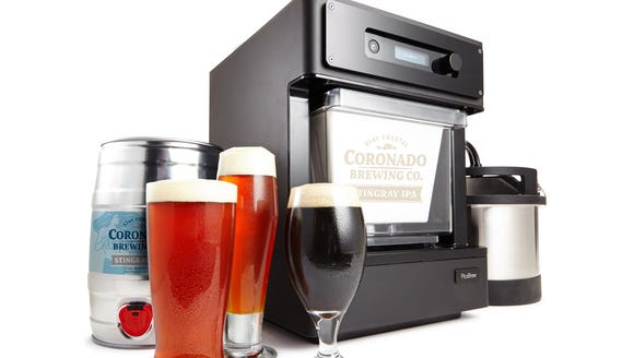 The new Pico Model C craft beer brewing appliance.