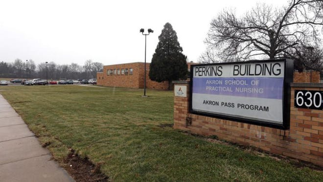 Perkins Middle School was torn down. The city is considering selling the now-vacant property to a developer for $1.