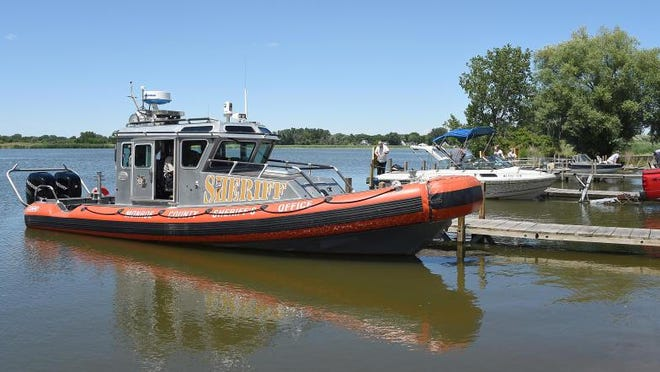 The Monroe County Sheriff's Office Safe Boat was believed to be one of dozens of boats lost in the Toledo Beach Marina fire Friday.