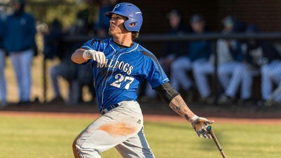 Former Roberson baseball standout Dominick Cammarata is a sophomore infielder/outfielder at Pitt Community College.