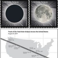 First-of-its-kind #EclipseStamps reveal second image when you touch it