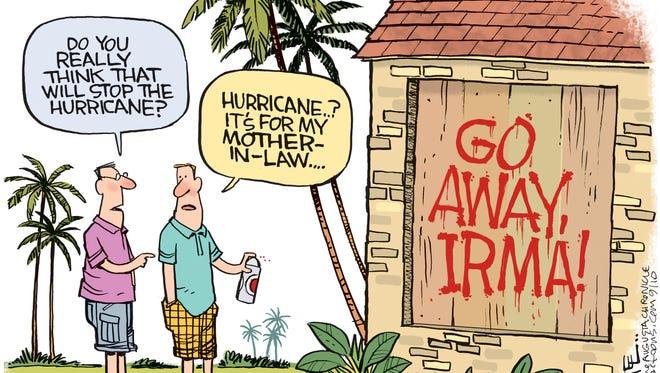 Go Away Irma!