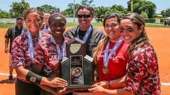 West Florida High softball champs.