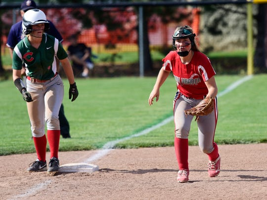 Dani Epling is an important part of Oak Harbor's success in the field and at the plate.