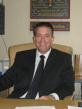 Polk County District Attorney Daniel P. Steffen