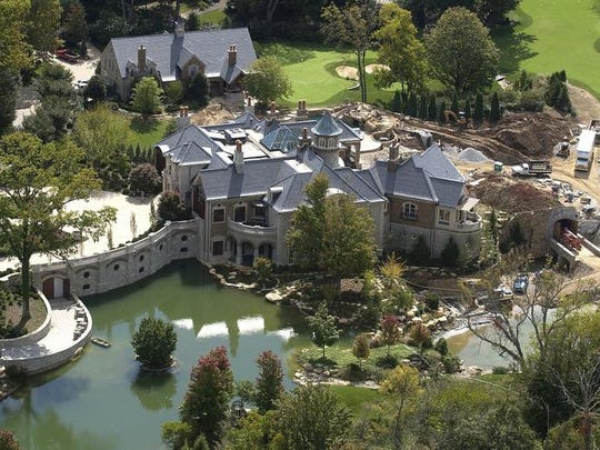 The 15,000-square-foot Anchorage home of John and Annette