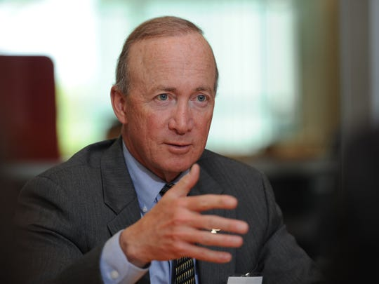 Purdue president Mitch Daniels has a few ideas how to fix college basketball.