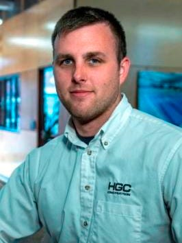 HGC Construction hires Zach Halpin as project engineer.
