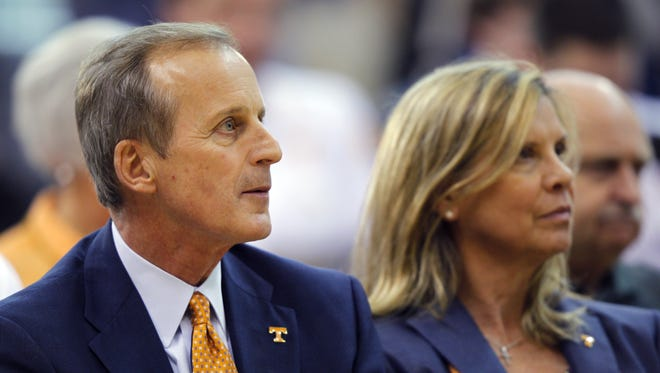 "Rick Barnes: ""Our goal is simply to be in the tournament every year, from a basketball standpoint."""