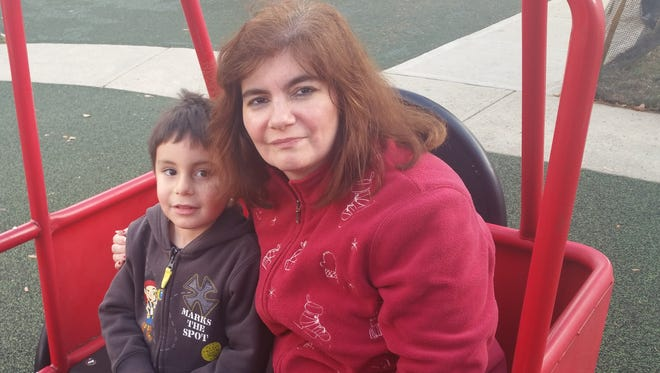 Darlene Miranda would like to have a new dresser and futon for her son, Christian, and her to use.