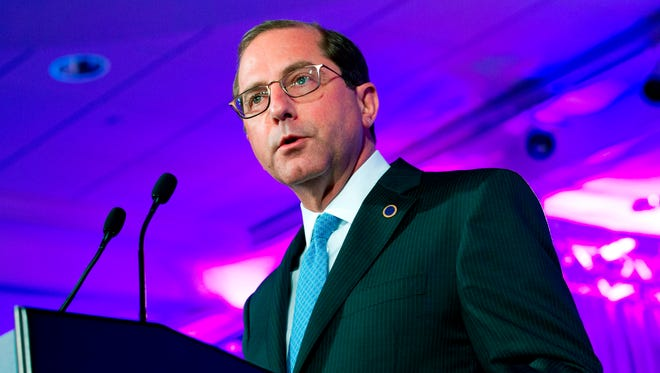 Secretary of Health and Human Services Alex Azar