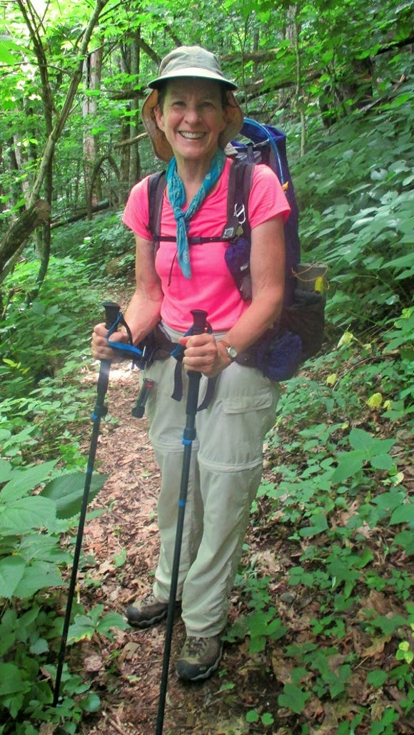 Lorie Hansen of Hendersonville became the 50th person to complete the entire 1,000-mile Mountains-to-Sea Trail in North Carolina.