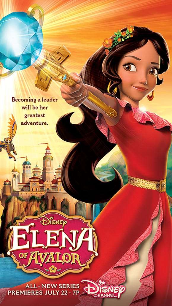 The official Elena poster.