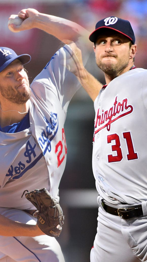 Game 1 starters: Clayton Kershaw vs. Max Scherzer.
