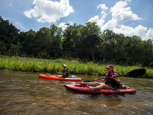 Autauga Creek Canoe Trail