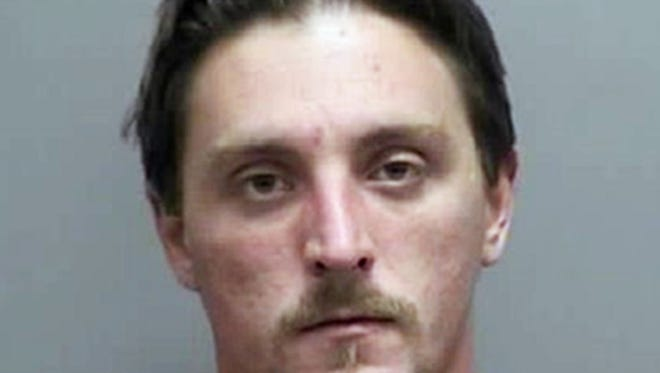 This undated photo provided by the Rock County Sheriff's Office in Janesville, Wis., shows Joseph Jakubowski. A manhunt is underway for Jakubowski, who is suspected of stealing firearms from a gun store in Janesville, threatening an unspecified attack that prompted several schools to close, and sending an anti-government manifesto to President Donald Trump. (Rock County Sheriff's Office via AP) ORG XMIT: CER107