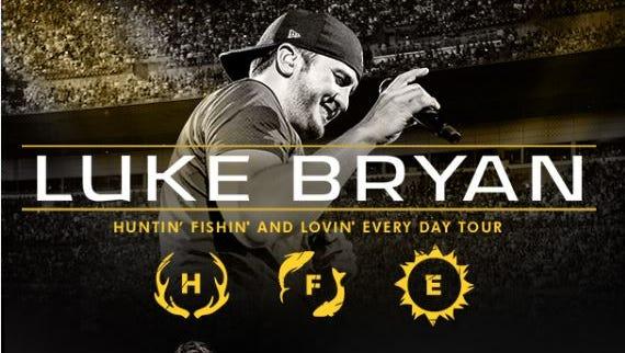 Enter to win Luke Bryan tickets.
