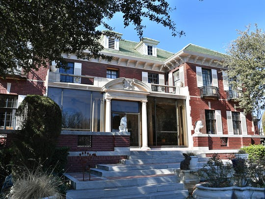 The Weeks Mansion was built in 1926 for the owner,