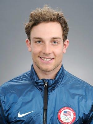 Ben Ferguson of Bend, Oregon is part of the U.S. Olympic snowboard team for halfpipe.