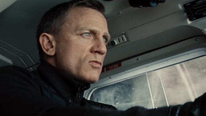 Daniel Craig in 'Spectre,' his last Bond film for a while.
