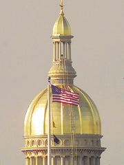 New Jersey State House dome.