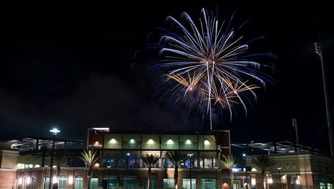 Fireworks have lit up the sky over Blue Wahoos Stadium on Saturdays and other special occasions like Fourth of July weekend.