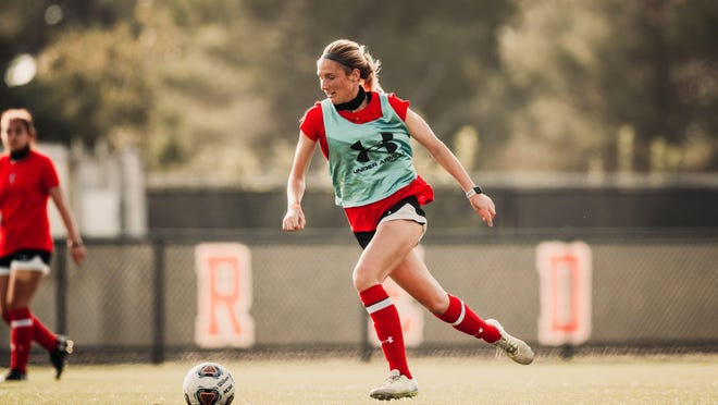 Forward Kirsten Davis is hoping Texas Tech is able to adjust when the Red Raiders host Baylor at 5:30 p.m. Friday at the John Walker Soccer Complex slated to be televised on ESPNU.