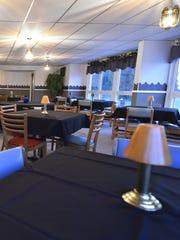 One of the Alaskan Motor Inn's remodeled dining rooms