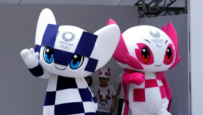 Mascot For 2020 Winter Olympics.Tokyo 2020 Official Mascots Unveiled At Ceremony