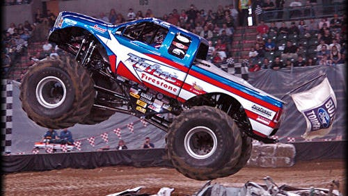 Bigfoot monster truck in 2007. The truck is one of the many that will perform at the Monster Truck Winternationals on Jan. 29-30, 2016 at the Wicomico Youth & Civic Center in Salisbury.