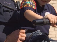 Cleburne police throw a special birthday party