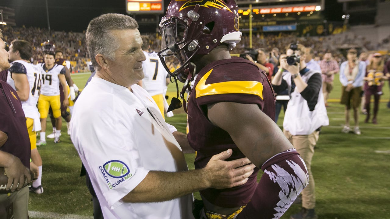 ASU coach Todd Graham talks about Saturday's road game against the Trojans and how his defense is working to eliminate critical errors. Video: Mark Henle/azcentral sports