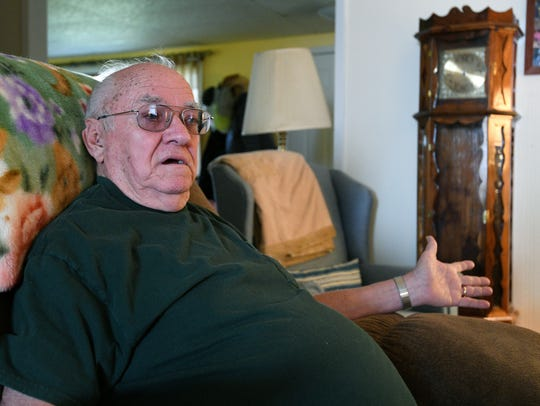 Ray Tucker, former recreation director at Brushy Mountain State Prison in Petros, Tenn., recalls hearing the prison whistle blow the night in June 1977 that James Earl Ray and six other inmates escaped.