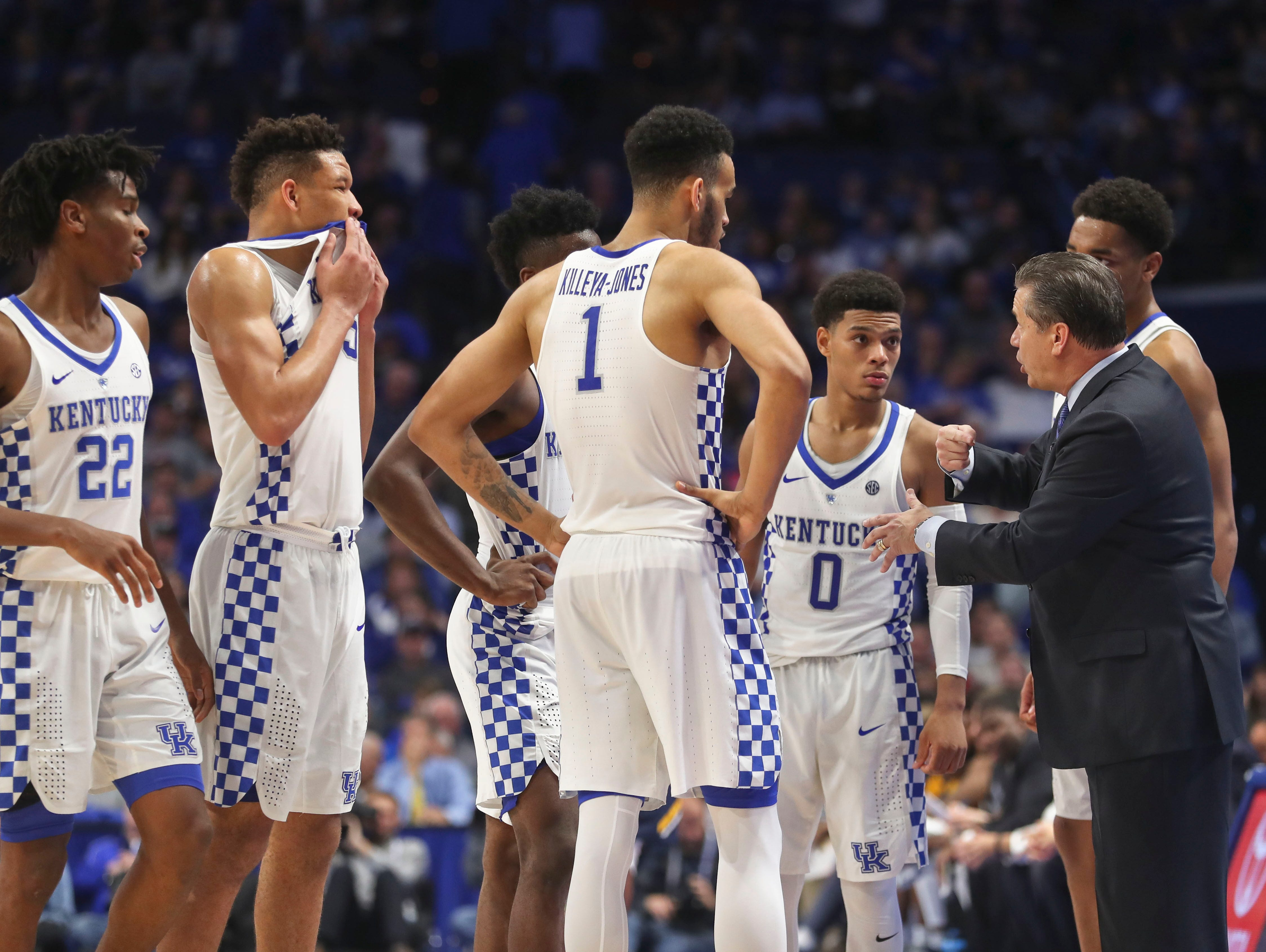 Kentucky Basketball Our First Look At The New Wildcats In: John Calipari Explains Importance Of UK Basketball Team's