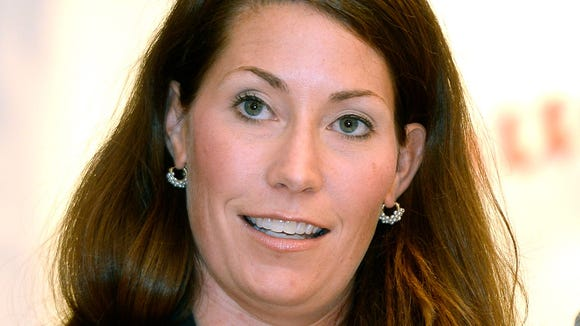 Kentucky Secretary of State and Democratic canidate for U.S. Senate, Alison Lundergan Grimes