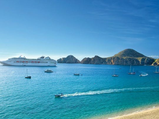 Cabo San Lucas is a cruise port, but less busy before